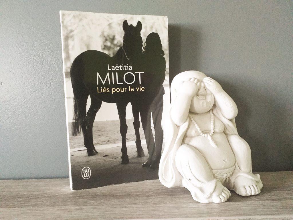 Bilan lectures - juillet 2019 Liés pour la vie - Laetitia Milot