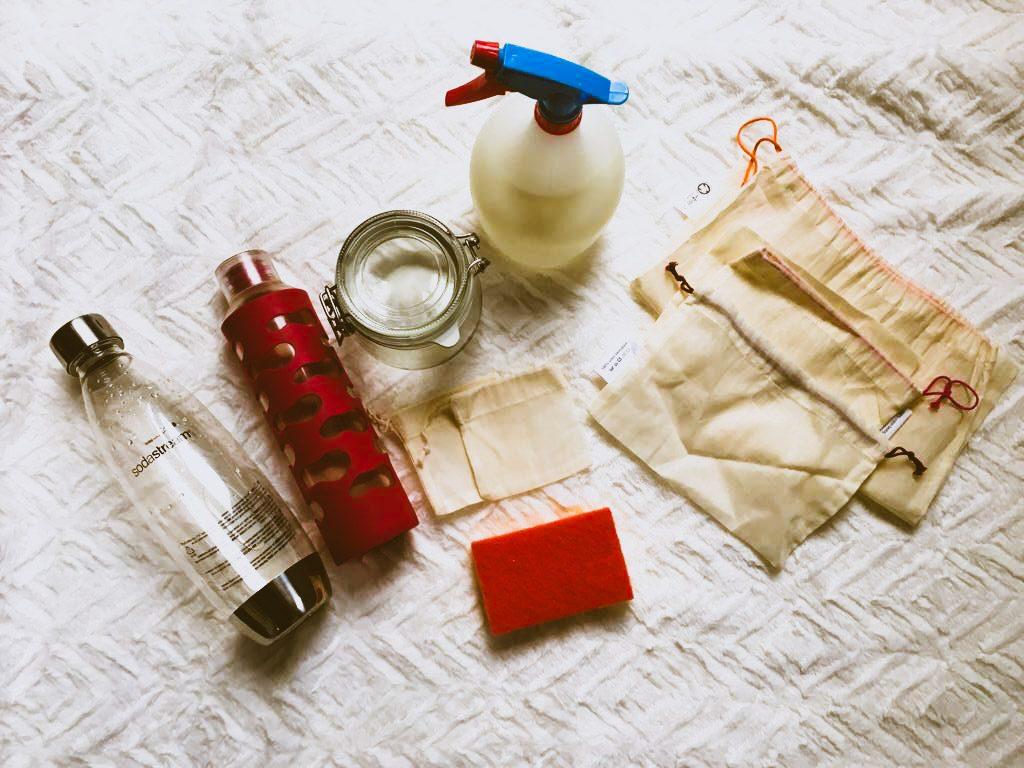 premiers pas zero dechets dans la cuisine et le menage