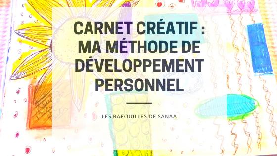 carnet créatif outil