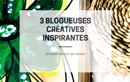 3 blogueuses créatives