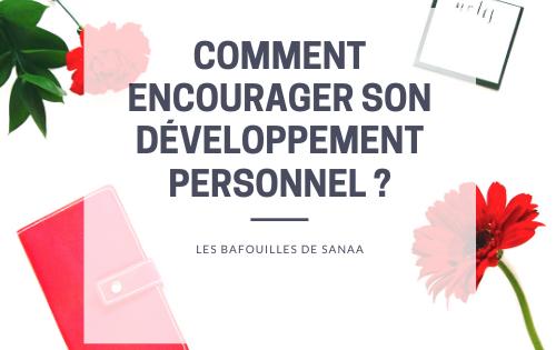encourager son développement personnel